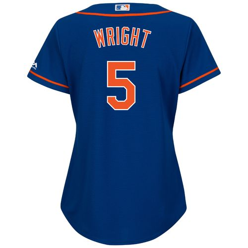Majestic Women's New York Mets David Wright #5 Cool Base® Replica Jersey - view number 1
