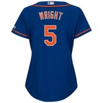 Majestic Women's New York Mets David Wright #5 Cool Base® Replica Jersey