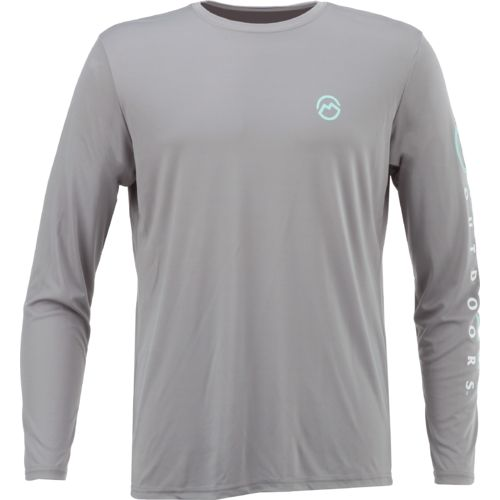 Magellan Outdoors Men's Casting Crew Moisture Management Long Sleeve T-shirt