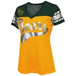 G-III for Her Women's Baylor University Pass Rush Fashion Top