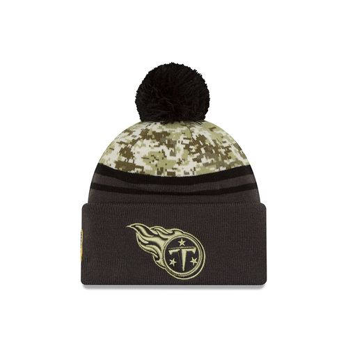New Era Men's Tennessee Titans Salute to Service Knit Cap
