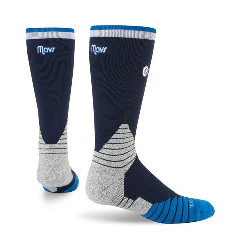 Stance Men's Dallas Mavericks Logo Crew Socks