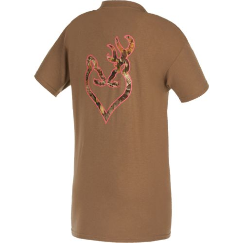 Browning Women's Mossy Oak Country Buckheart T-shirt
