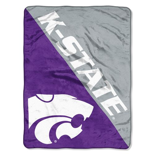 The Northwest Company Kansas State University Halftone Micro Raschel Throw