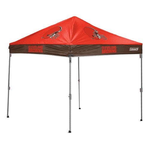 Coleman® Cleveland Browns 10u0027 x 10u0027 Straight-Leg Canopy - view number  sc 1 st  Academy Sports + Outdoors : coleman canopy replacement parts - memphite.com