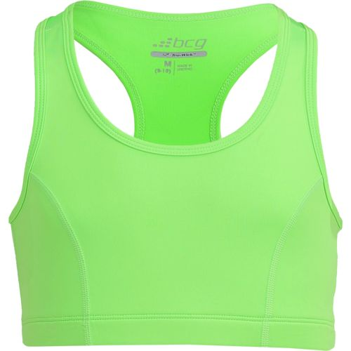 Display product reviews for BCG Girls' Solid Sports Bra