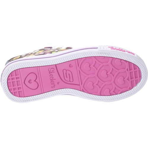 SKECHERS Girls' Twinkle Toes Shuffles Chat Time Shoes - view number 5