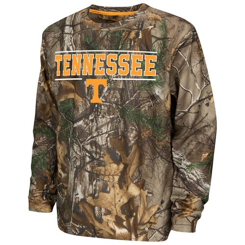 Colosseum Athletics™ Boys' University of Tennessee Pointer Long Sleeve Camo Shirt