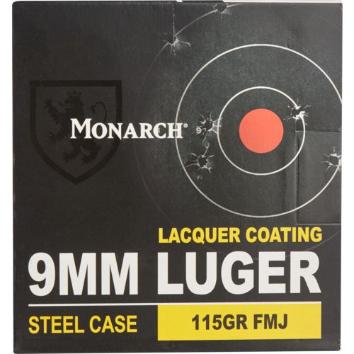 Monarch® 9mm Luger 115-Grain Pistol Ammunition