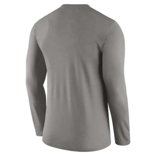 Nike™ Men's University of Tennessee Dry Top Coaches Long Sleeve T-shirt - view number 2