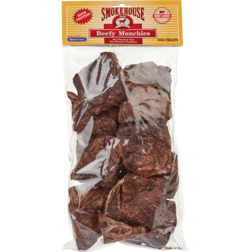 Display product reviews for Smokehouse 8 oz. Beef Lung Munchies