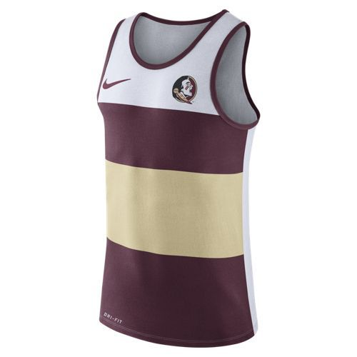 Nike™ Men's Florida State University Stripe Tank Top