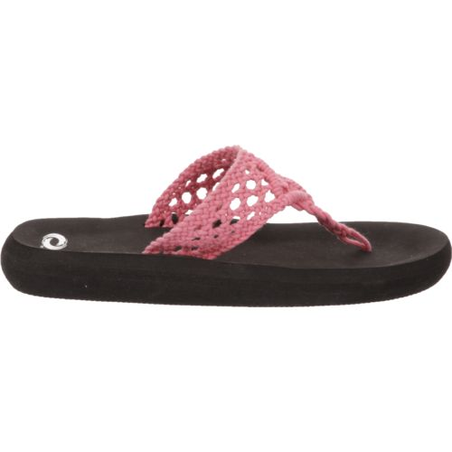 Display product reviews for O'Rageous Women's Crochet Thong Sandals