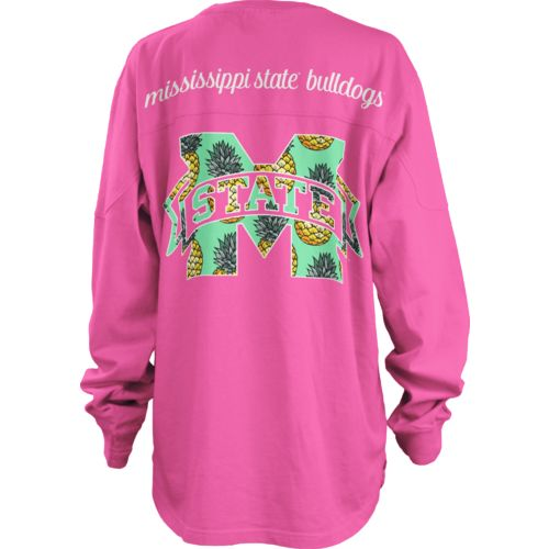 Three Squared Juniors' Mississippi State University Aloha Big Shirt