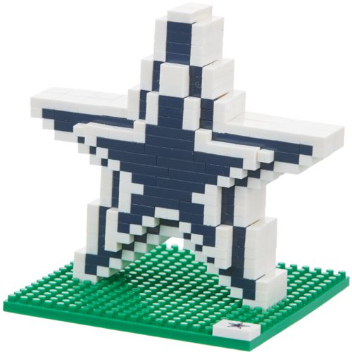 Forever Collectibles™ Dallas Cowboys 3-D Logo BRXLZ Puzzle