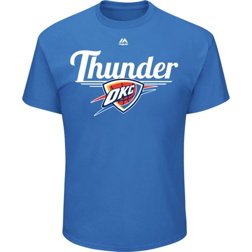 Majestic Men's Oklahoma City Thunder Holiday T-shirt - view number 1