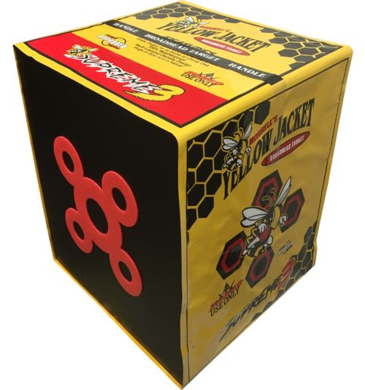 Display product reviews for Morrell Yellow Jacket Supreme Broadhead Foam Target