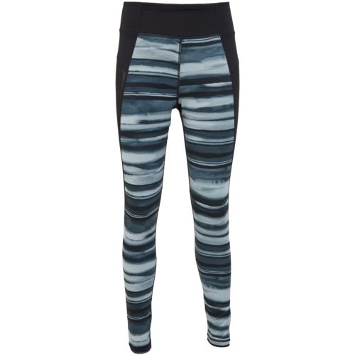adidas Women's Performer High Rise Oxidized Stripe Long Tight