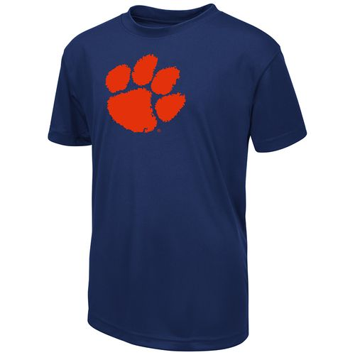 Colosseum Athletics Boys' Clemson University Team Stripe T-shirt