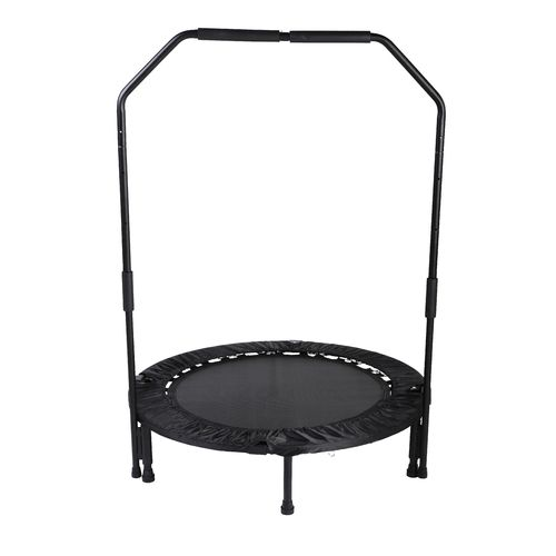 Sunny Health & Fitness 40 in Foldable Trampoline with Bar