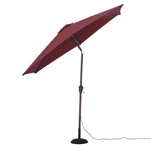 Quik Shade Ultra Brite Outdoor Warm Lighted Patio Umbrella - view number 4