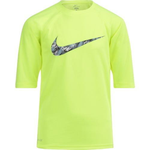 Nike Boys' Watercamo Hydro Top Rash Guard