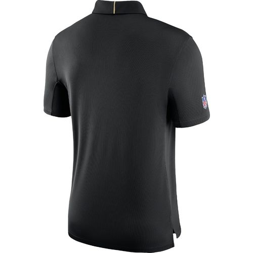 Nike™ Men's New Orleans Saints Dry Elite Polo Shirt - view number 2