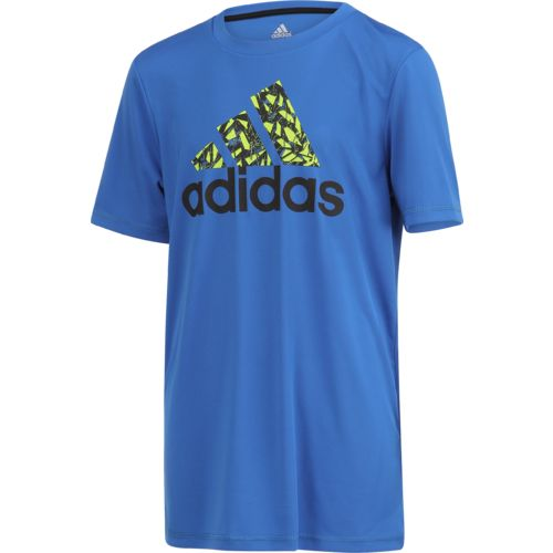 adidas Boys' climalite Badge of Sport T-shirt - view number 3