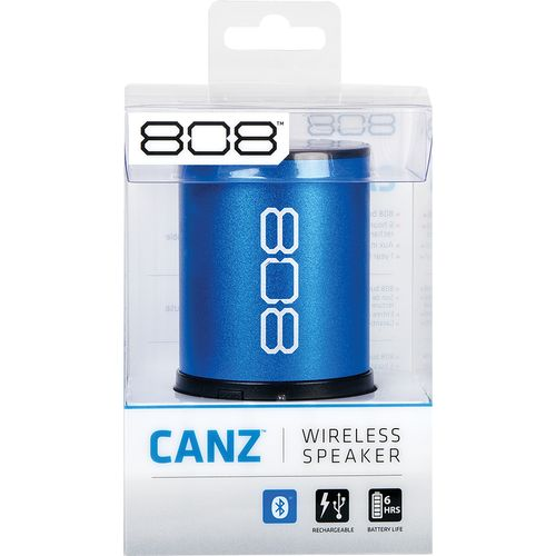 Display product reviews for 808 Audio CANZ Bluetooth Wireless Speaker