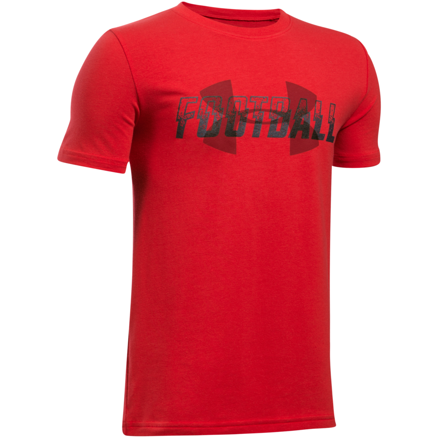 Under Armour Boys' Football Overlay Short Sleeve T-shirt