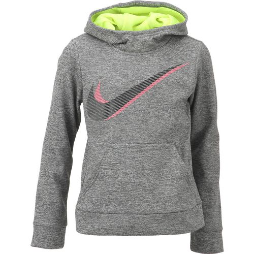 Nike Girls' Therma GFX2 Pullover Hoodie