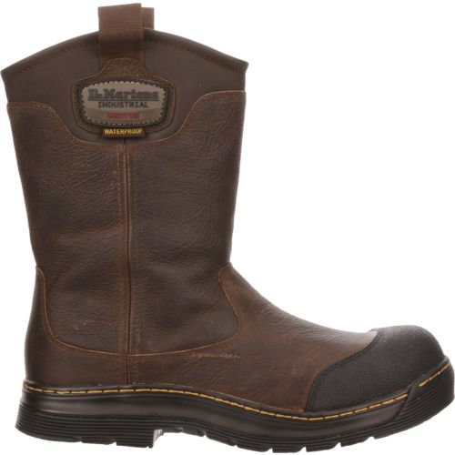 Display product reviews for Dr. Martens Men's Rush EH Safety Toe Wellington Work Boots