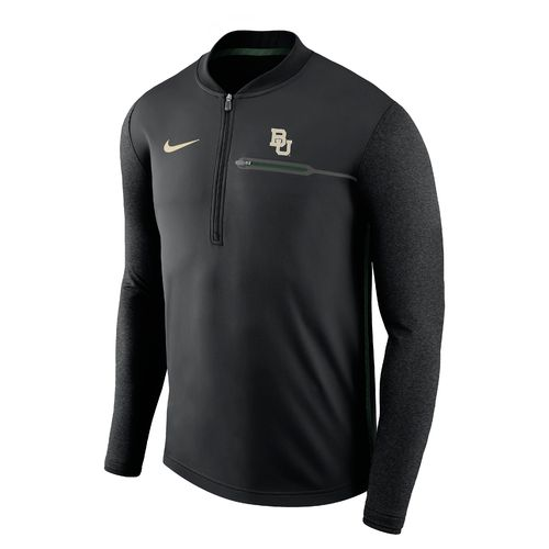 Nike™ Men's Baylor University Coaches 1/4 Zip Pullover