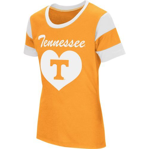 Colosseum Athletics Girls' University of Tennessee Bronze Medal Short Sleeve T-shirt