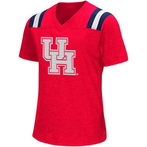 Colosseum Athletics Girls' University of Houston Rugby Short Sleeve T-shirt