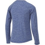 BCG Girls' Turbo Heather V-neck Training Shirt - view number 2