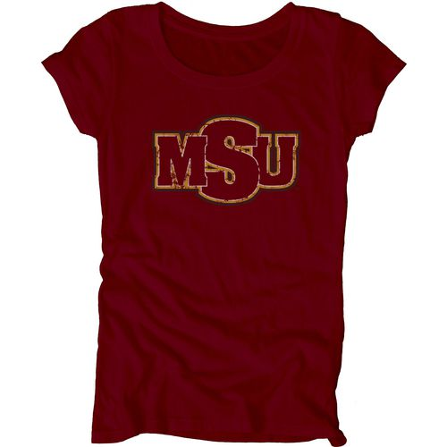Blue 84 Juniors' Midwestern State University Mascot Soft T-shirt - view number 1