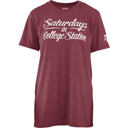 Three Squared Juniors' Texas A&M University Saturday T-shirt