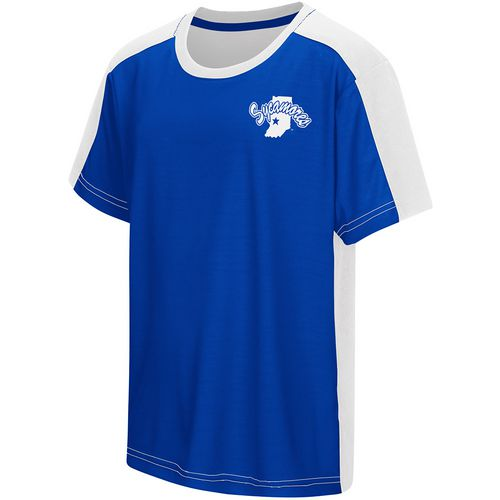 Colosseum Athletics Boys' Indiana State University Short Sleeve T-shirt