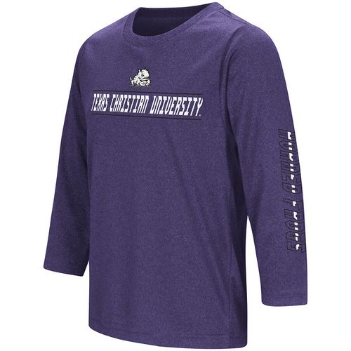 Colosseum Athletics Boys' Texas Christian University Long Sleeve T-shirt