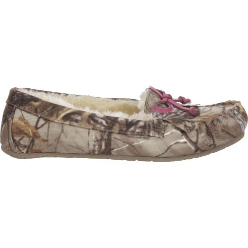 Austin Trading Co. Women's Kiltie Realtree Xtra Camo Moc Slippers