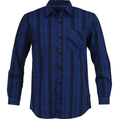 Magellan Outdoors Men's Woodlake Plaid Long Sleeve Shirt