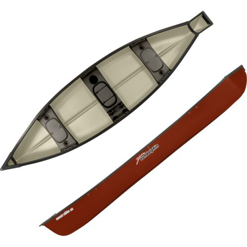 Sun Dolphin Scout Elite 14 ft 3-Person SS Canoe - view number 1