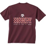 New World Graphics Women's Texas A&M University Comfort Color Initial Pattern T-shirt - view number 1