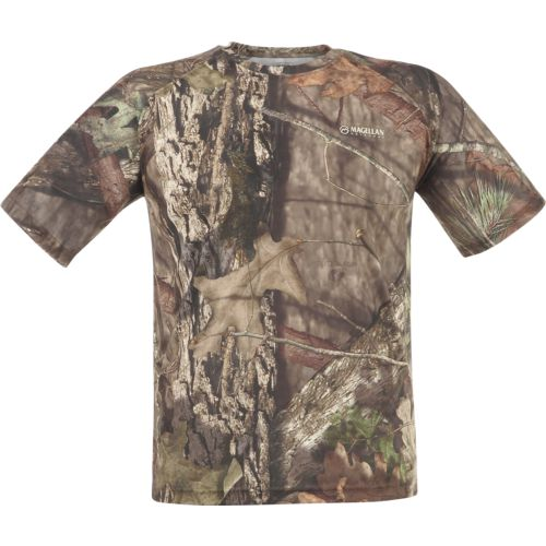 Display product reviews for Magellan Outdoors Men's Eagle Pass Mesh Short Sleeve T-shirt