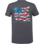 Heybo Men's Lure Flag Short Sleeve T-shirt - view number 1