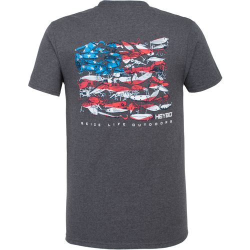 Heybo Men's Lure Flag Short Sleeve T-shirt