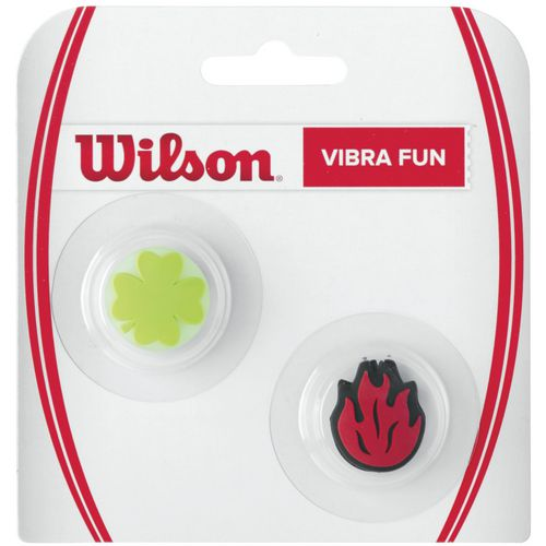 Wilson Vibra Fun Clover and Flame Vibration Dampeners 2-Pack