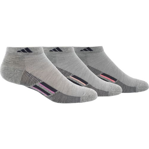 adidas climacool Superlite Stripe No Show Socks 3 Pack