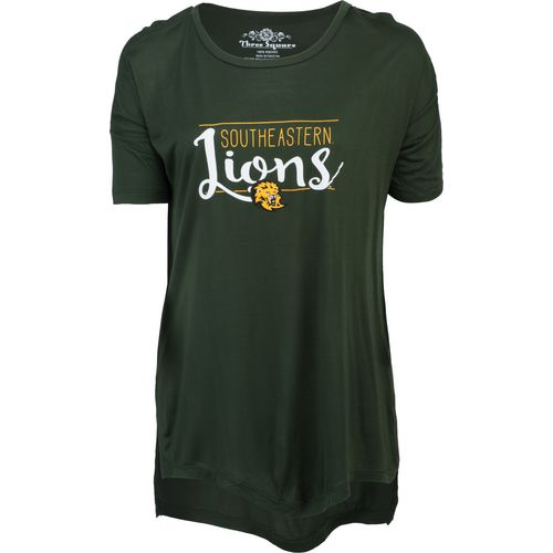 Three Squared Juniors' Southeastern Louisiana University Script T-shirt